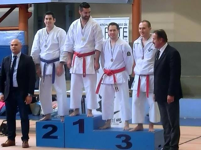Podium Coupe de la Ligue 2019