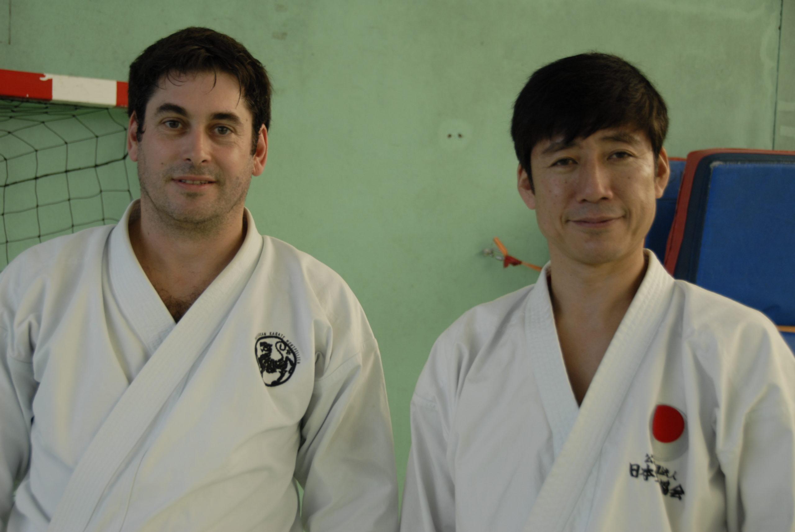 Guillaume Baron et Naka SENSEI